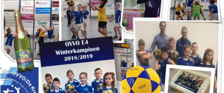 Verslag: OVVO E4 Kampioenen Ole Ole! (met filmpje)